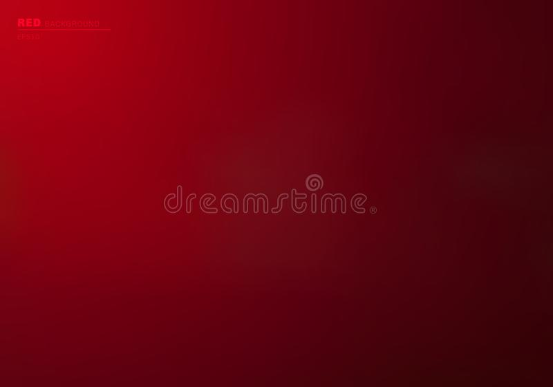 Abstract red gradient color background and wallpaper. You can use for wedding card, valentine festival, poster, brochure, banner royalty free illustration