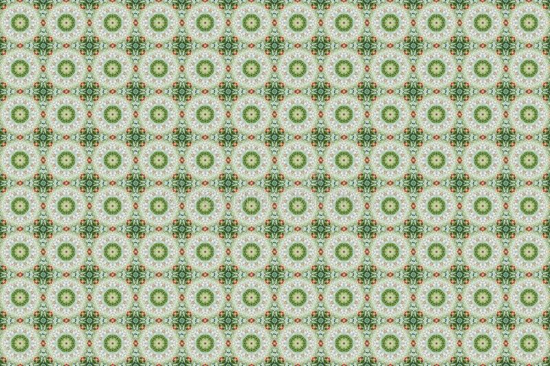 Abstract red- green graphic pattern. NAbstract graphic pattern. Beautiful kaleidoscope red- green seamless background. Abstract kaleidoscope background. Unique stock photo