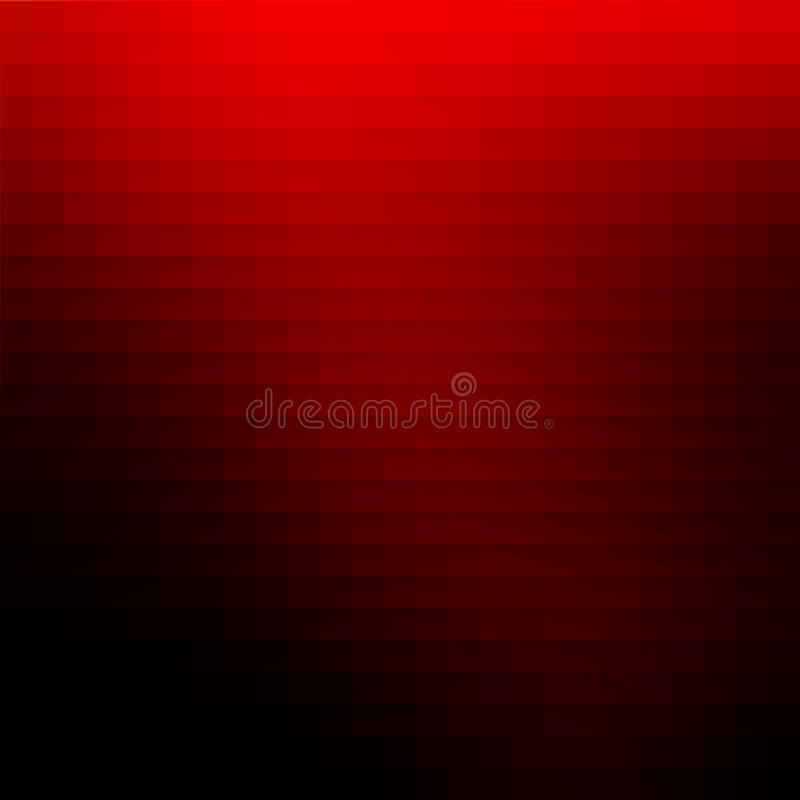 Abstract red mosaic background stock illustration