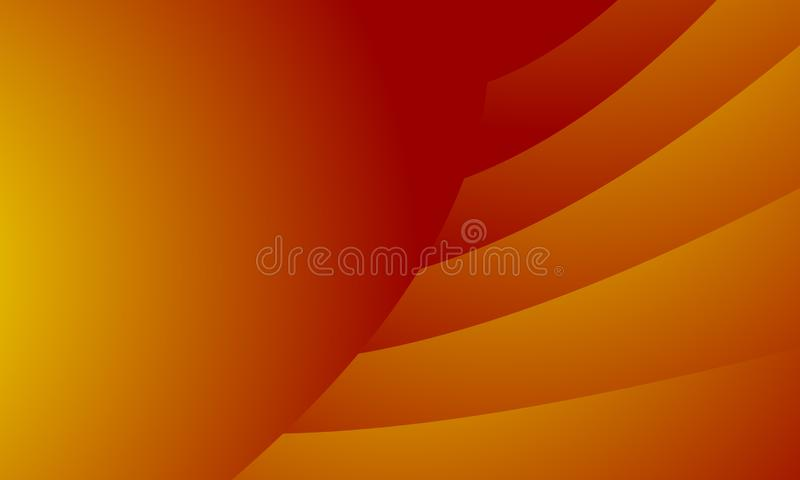 Abstract Red Orange Blur Background.An abstract blur background with gradation. Retro coloured Blur Background Beige Blurred Wallpaper with Watercolor Vintage royalty free illustration