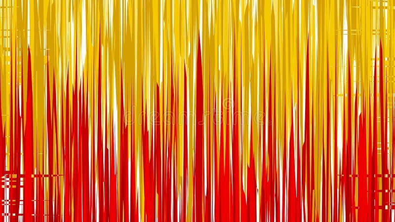 Abstract Red and Orange Vertical Lines and Strips Background Vetor Image ilustração stock