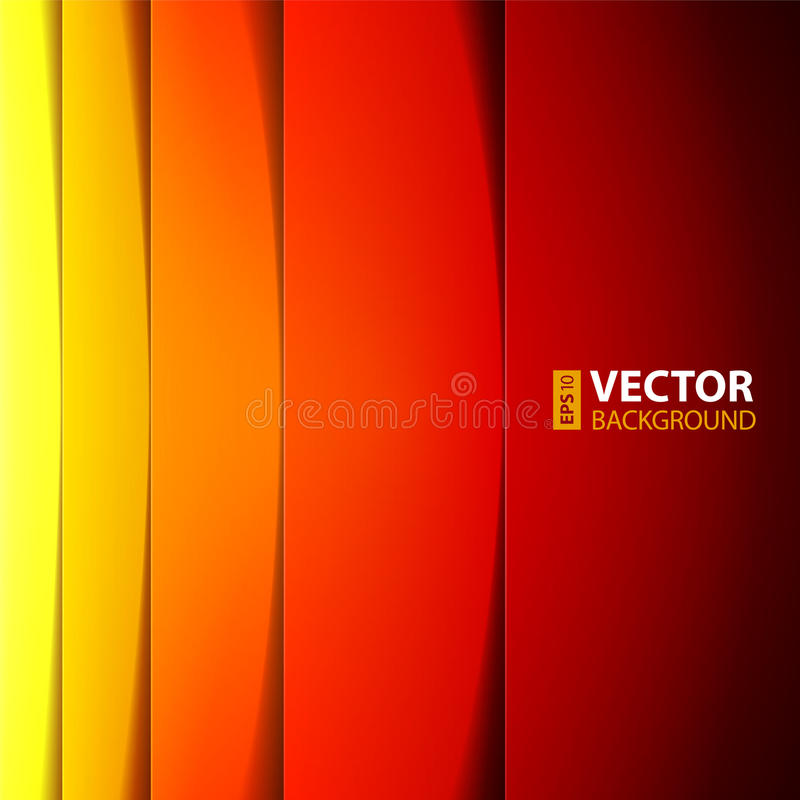 Download Abstract Red, Orange And Yellow Rectangle Shapes Stock Vector - Illustration of line, element: 33586020