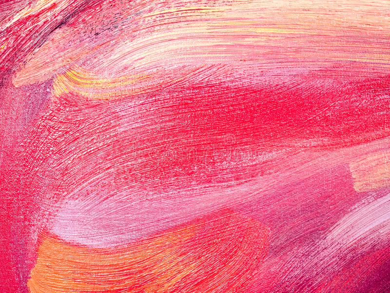 Abstract oil paint texture on canvas royalty free stock photos