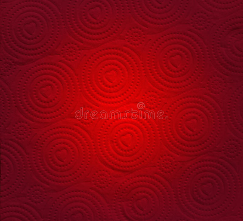 Abstract red paper with heart shape background. Abstract red paper valentine background with heart shape background royalty free stock image