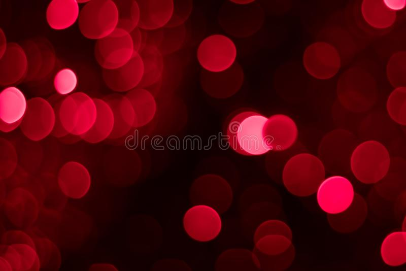 Download Abstract Red And Pink Circular Bokeh Background Stock Photo - Image: 34154914