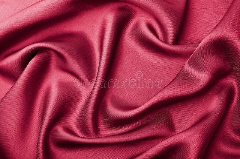 Abstract red silk background