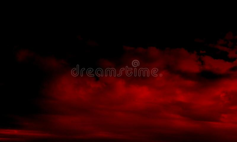 Red smoke.Plume of smoke.Abstract red smoke mist fog on a black background. Stream, . Abstract red smoke mist fog on a black background.Smoke fog misty texture royalty free stock image