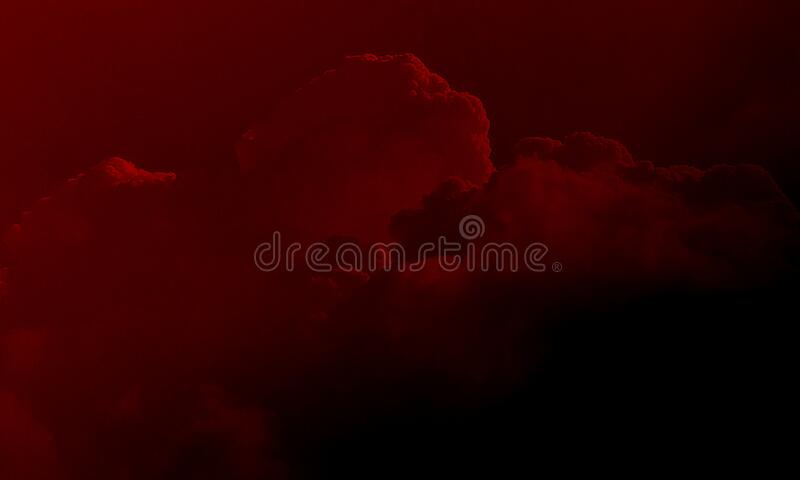 Abstract red smoke mist fog on a black background. Stream, isolated. Abstract red smoke mist fog on a black background.Smoke fog misty texture on isolated black royalty free stock images