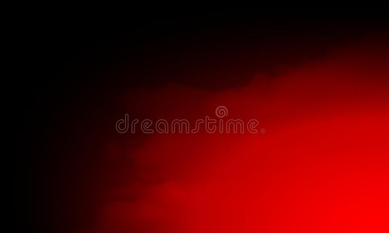 Abstract red smoke mist fog on a black background. Texture, isolated. stock photo