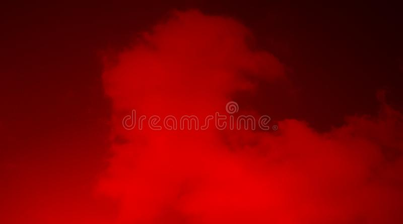 Abstract red smoke mist fog on a black background wallpaper. vector illustration