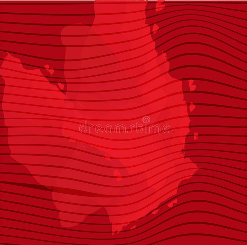 Abstract red spot on light background. Space retro design. Red color. Vector abstract grunge background. Banner template. Party vector illustration