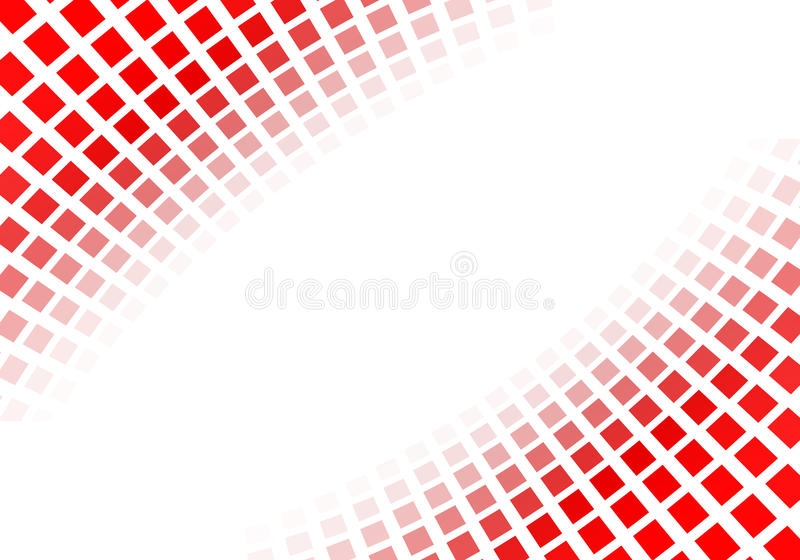 Abstract Red Squares Stock Illustration. Illustration Of