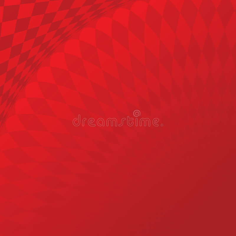 Abstract red tile 01 stock illustration