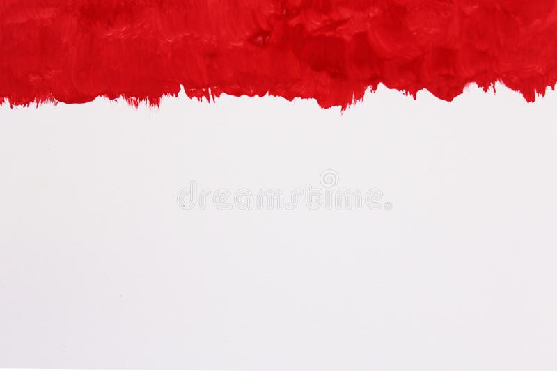 Abstract Red Watercolor Background, Hand Paint On Paper. photo stock images