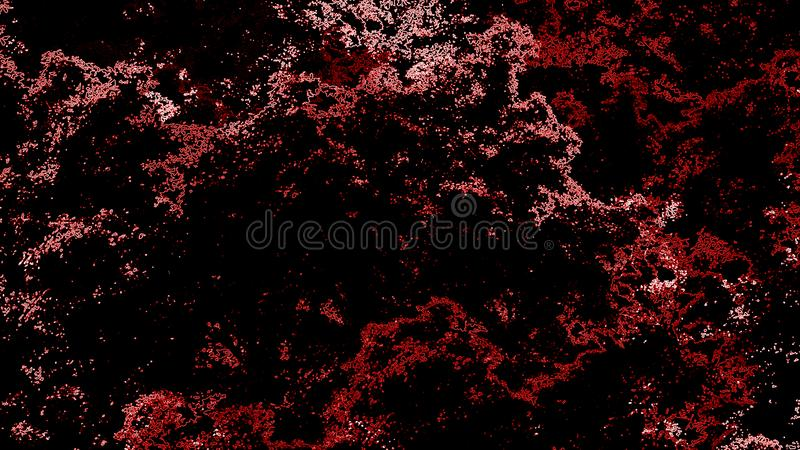 Abstract red watercolor on the black backdrop. Art space texture. Abstract shape backgrounds. Abstract background. Art paint texture. Abstract shapes backgrounds vector illustration