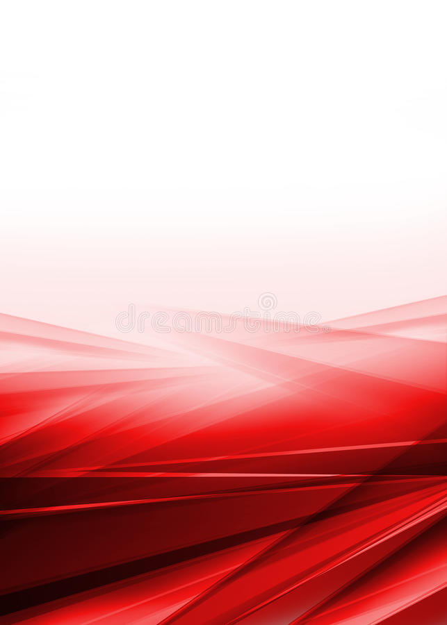 Abstract red and white background stock illustration