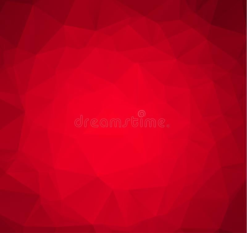 Abstract Red White Polygonal Mosaic Background, Vector illustration, Creative Business Design Templates. Abstract Red White Polygonal Mosaic Background, Vector vector illustration