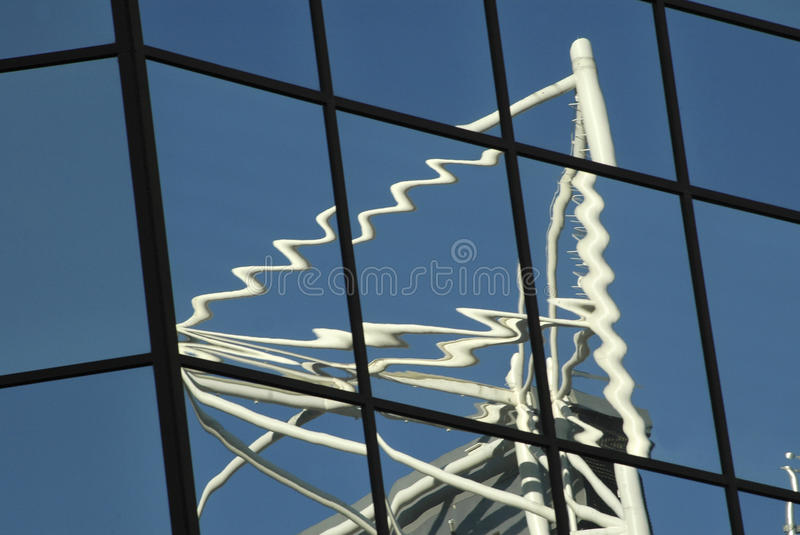 Abstract Reflection stock photography