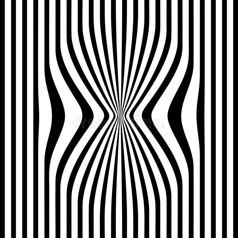 Abstract repel black strips white background vector illustration background. Many uses for advertising, book page, paintings, printing, mobile backgrounds, book royalty free illustration