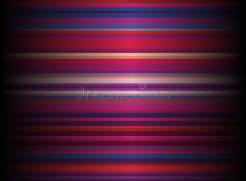 Abstract retro background. Background with colorful stripes- vector illustration royalty free illustration