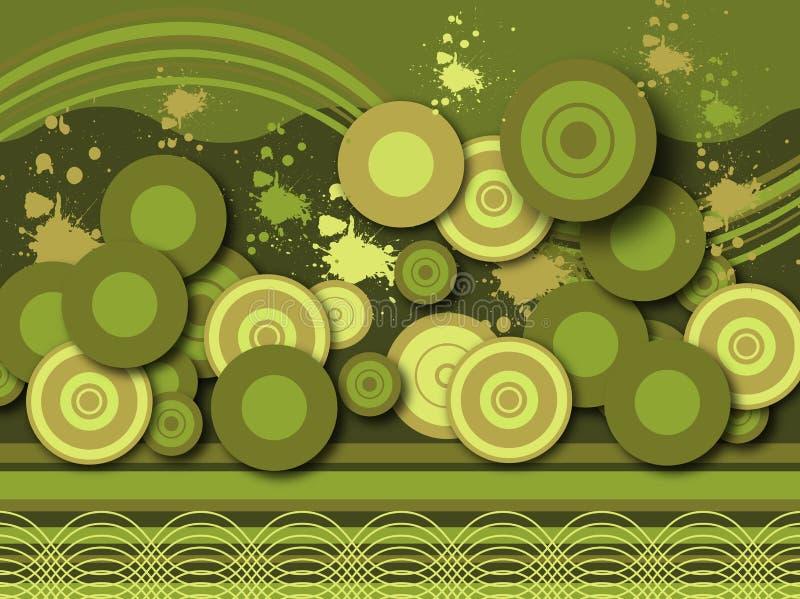 Abstract Retro Background Stock Photo