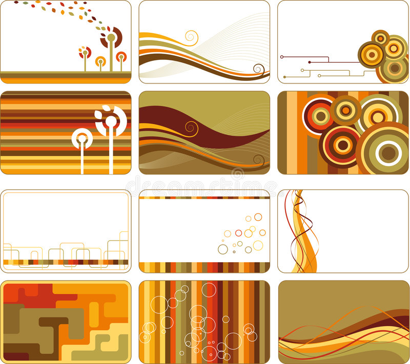Download Abstract retro backgrounds stock vector. Image of colourful - 8173259