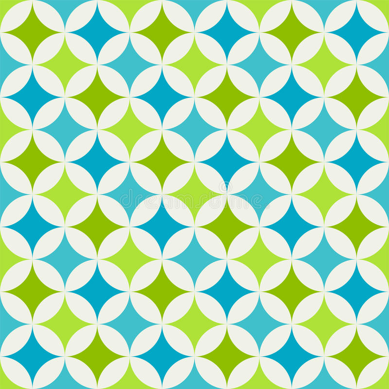 Abstract retro geometric pattern royalty free illustration