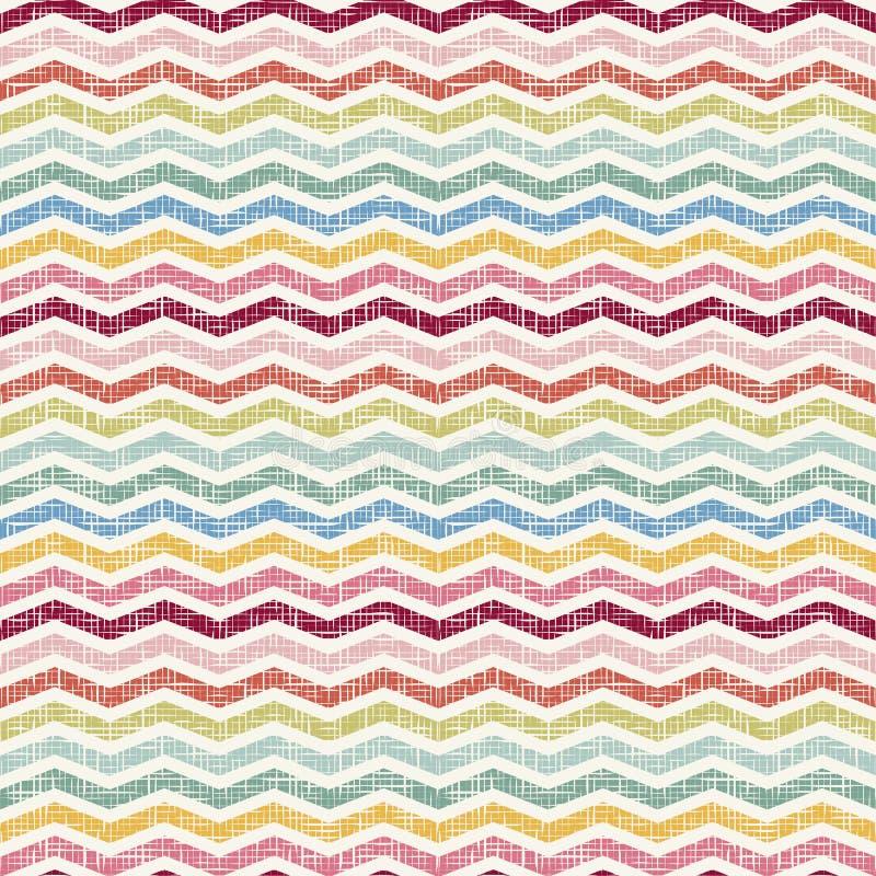 Abstract Retro Geometrisch naadloos patroon vector illustratie