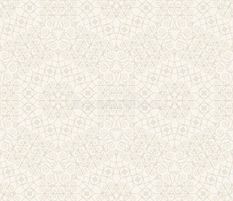 Abstract Retro Geometrisch naadloos patroon stock illustratie