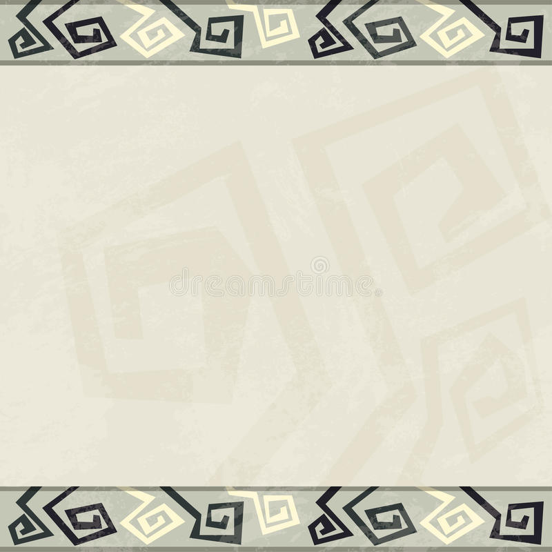 Download Abstract Retro Seamless Border Stock Vector - Illustration of brown, collection: 33044527