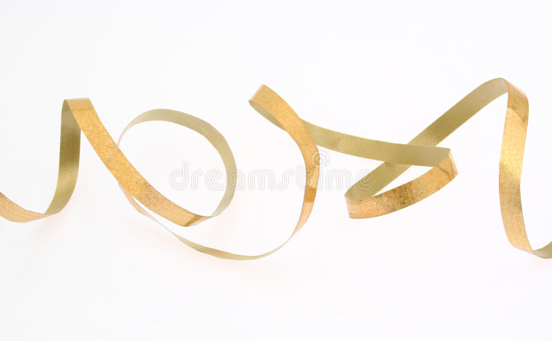 Download Abstract ribbon curve stock image. Image of isolated, golden - 4587967