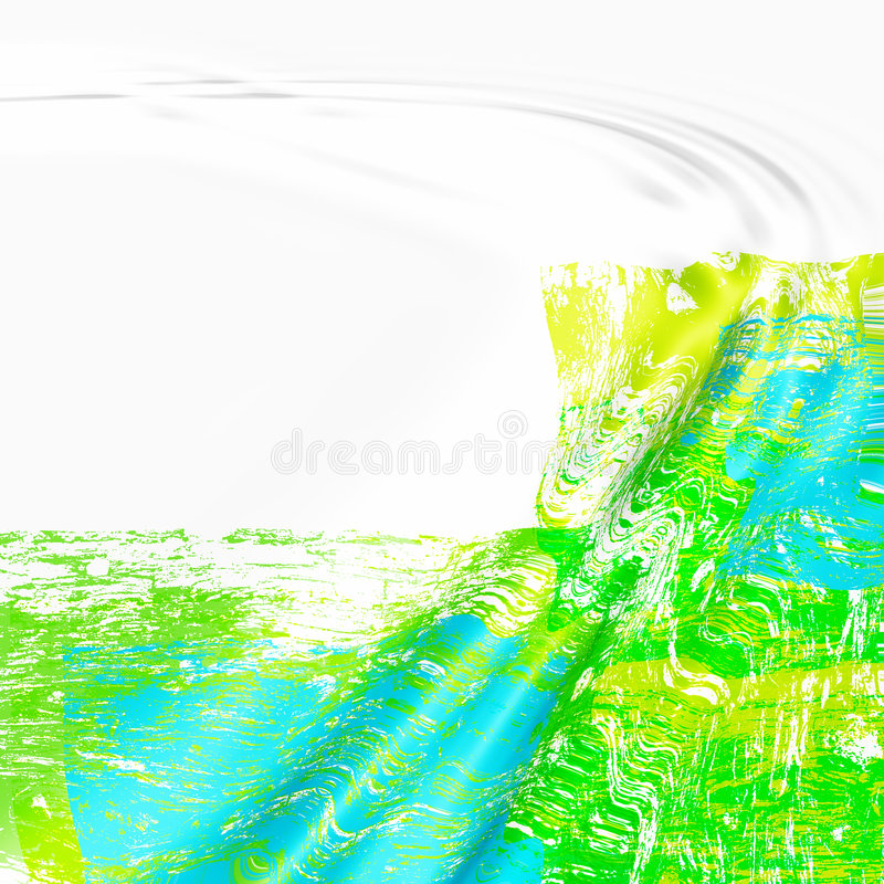Abstract ripples background stock illustration