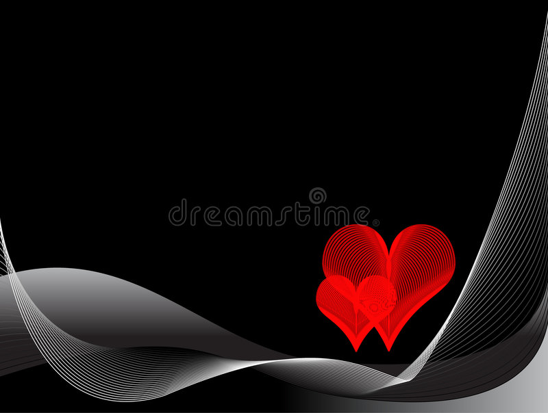 Abstract romantic background royalty free stock photography
