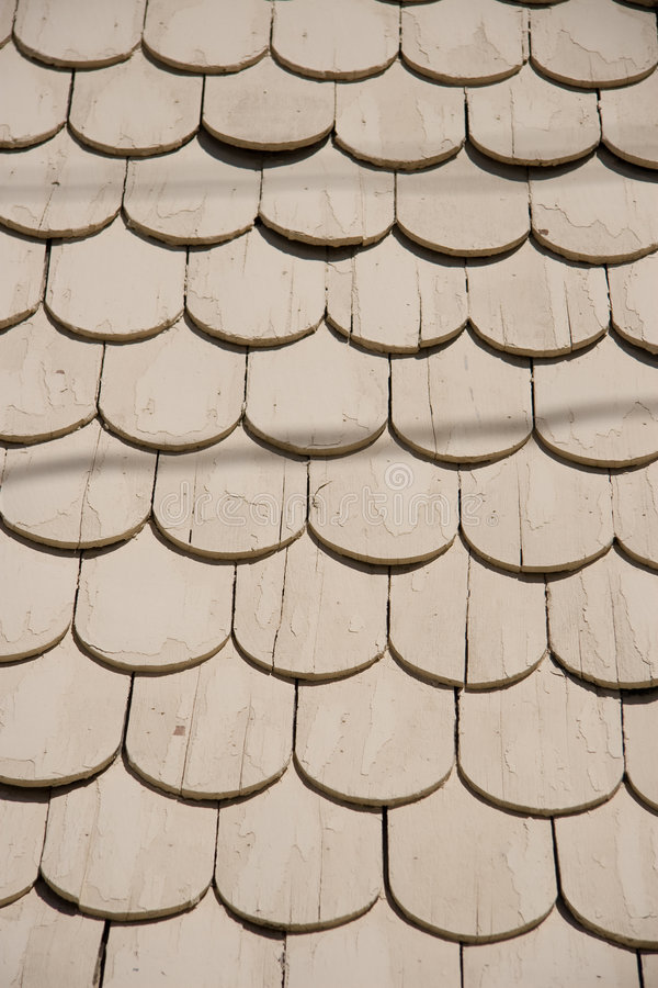 Abstract Roof Shingles Stock Image