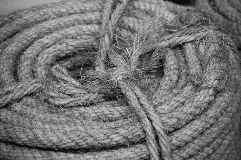 Abstract rope stock photography
