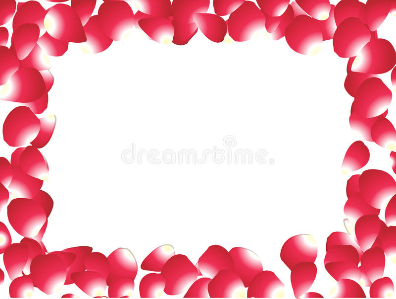 Abstract rose petals stock photo