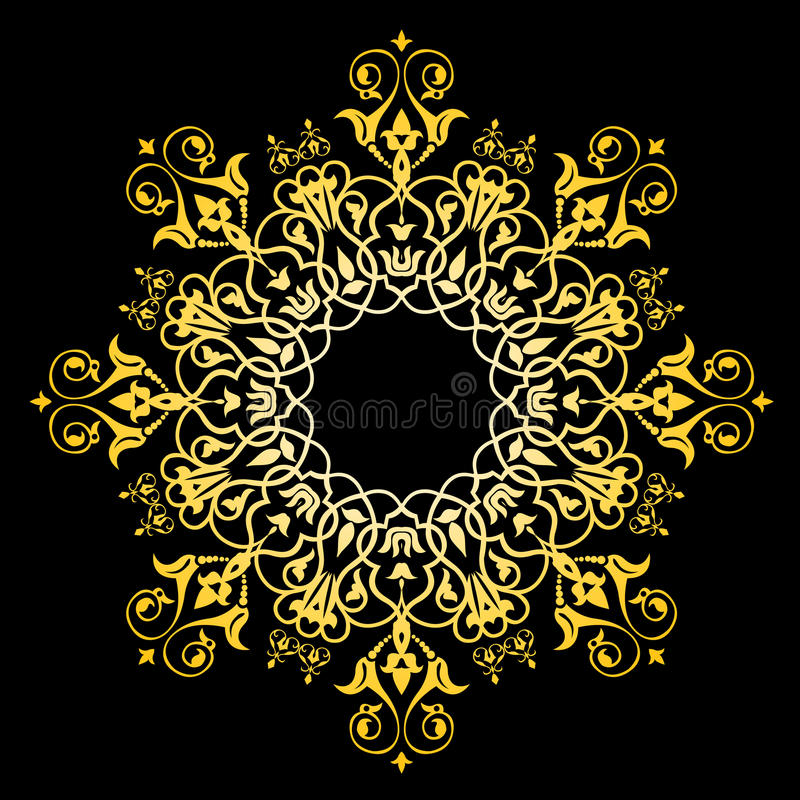 Abstract royal decorative background royalty free illustration