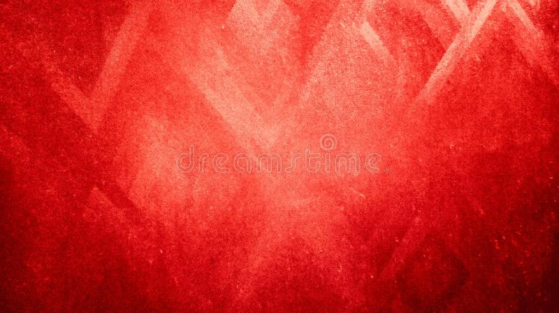 Abstract ruby red sharpness triangles texture reflected background wallpaper. royalty free stock photography