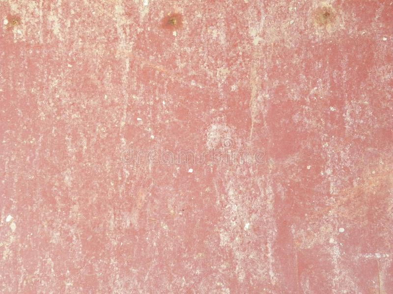 Distressed red and white color metal sheet background stock photography