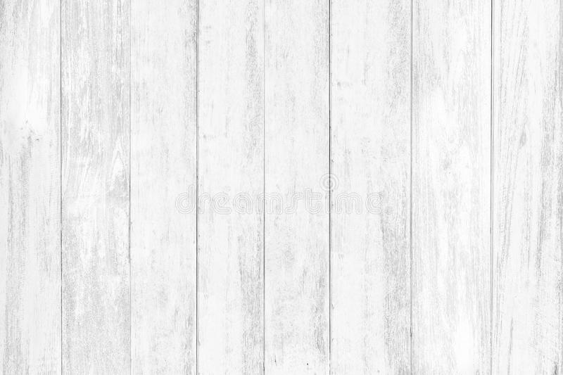 Abstract rustic surface white wood table texture background. Close up of rustic wall made of white wood table planks texture. Rustic white wood table texture royalty free stock images