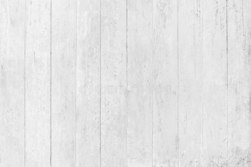 Abstract rustic surface white wood table texture background. Close up of rustic wall made of white wood table planks texture. Rustic white wood table texture royalty free stock image