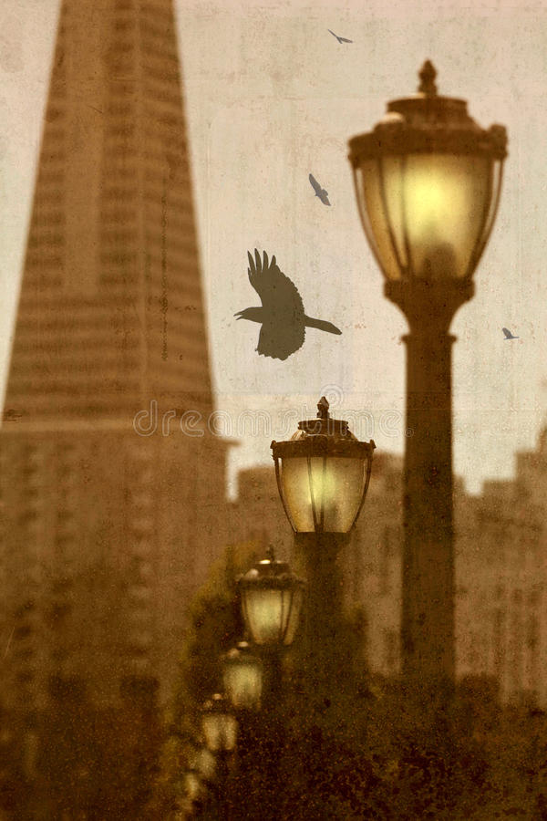 Download Abstract  San Francisco. stock image. Image of goth, francisco - 37402975
