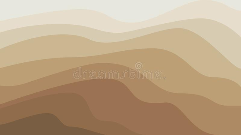Abstract sandy background stock illustration
