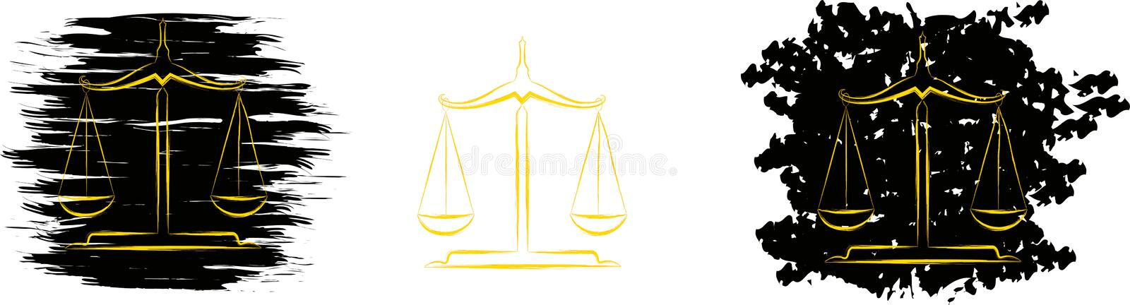 Download Abstract scale stock vector. Image of jail, caught, evil - 24192342