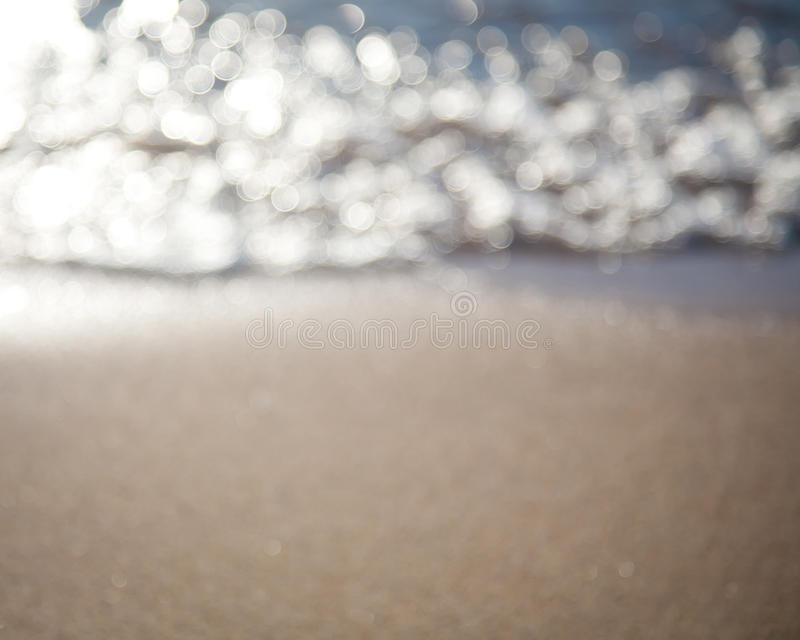Abstract Sea Blurred Background Royalty Free Stock Photos