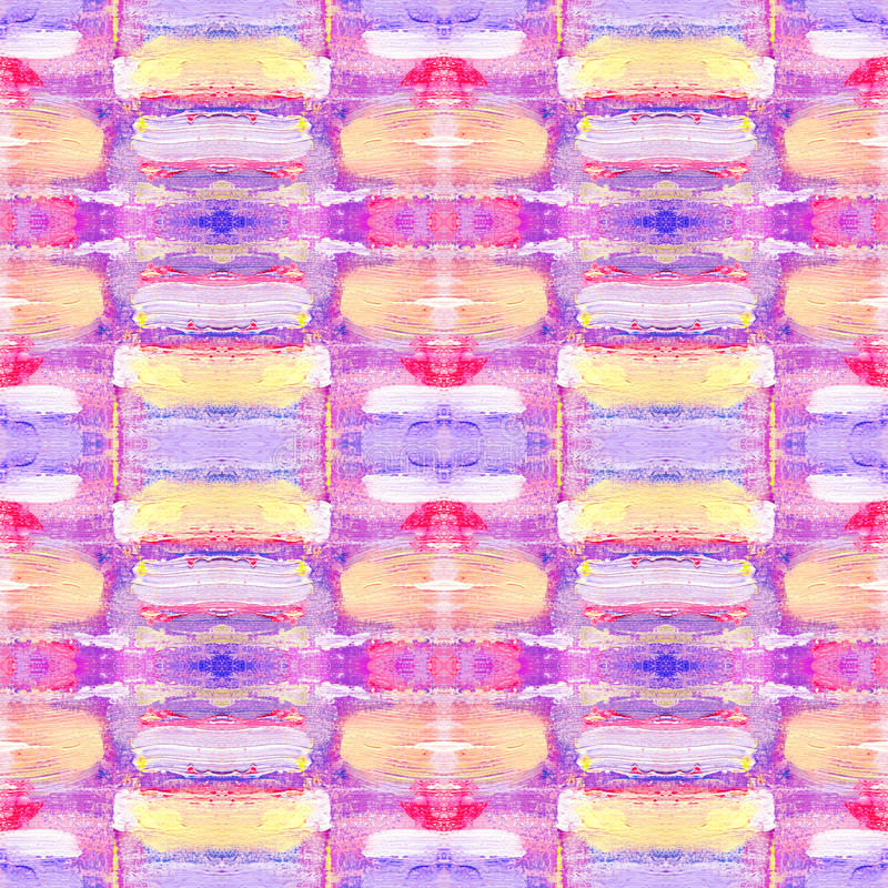 Abstract seamless acrylic ornamental pattern. Seamless texture in impressionism style for web, print, wraps, fabric, textile, webs. Ite, invitation card stock images