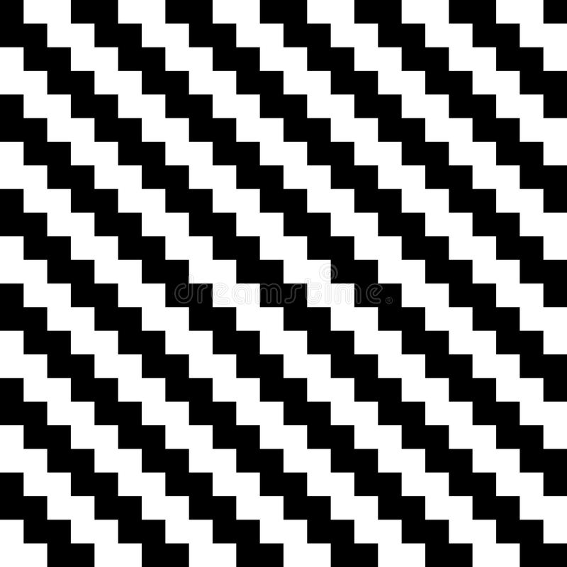Abstract seamless background chevron pattern in black and white. Vector illustration stock illustration