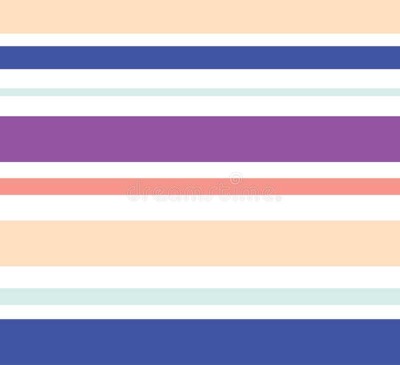 abstract seamless background with multicolored stripes royalty free illustration