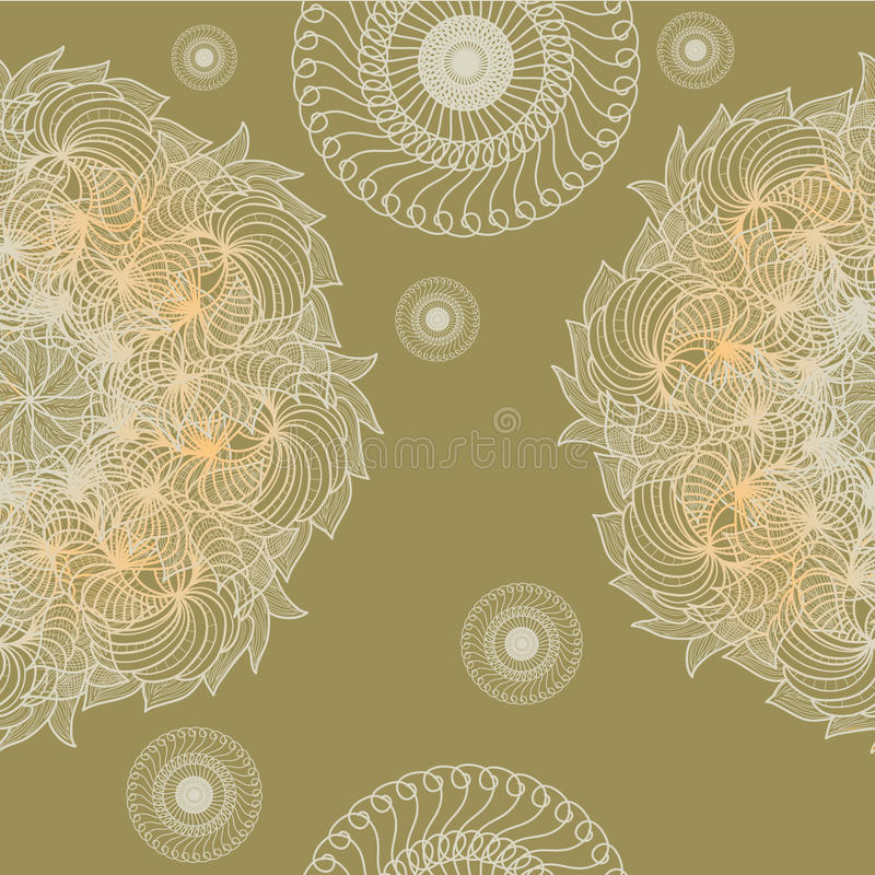 Abstract seamless background. Seamless background in abstract style, vector design element stock illustration