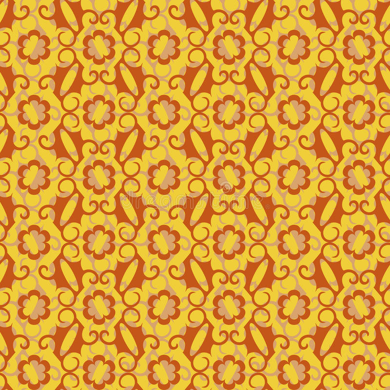 Download Abstract Seamless Background Of Yellow And Brown Stock Photos - Image: 12550443